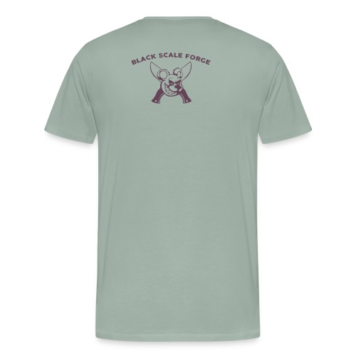 BSK Amok back - Men's Premium T-Shirt