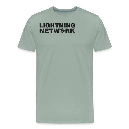 Lightning Network Bitcoin Tshirt - Men's Premium T-Shirt