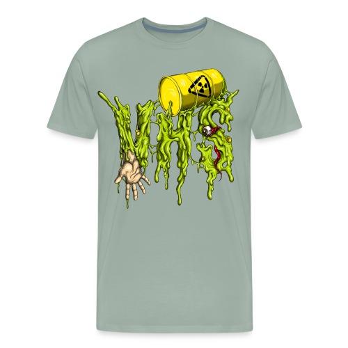 VHS-Radioactive Logo T-Shirt - Men's Premium T-Shirt