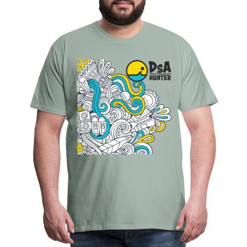 DSA Hunter - Funky Design - Men's Premium T-Shirt