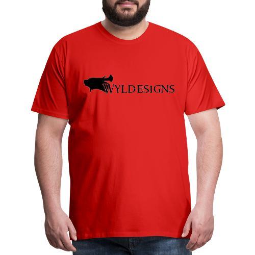 Wyldesigns Logo - Men's Premium T-Shirt