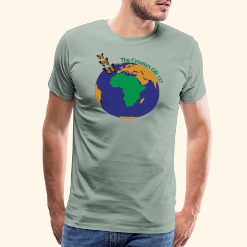 The CG137 logo - Men's Premium T-Shirt