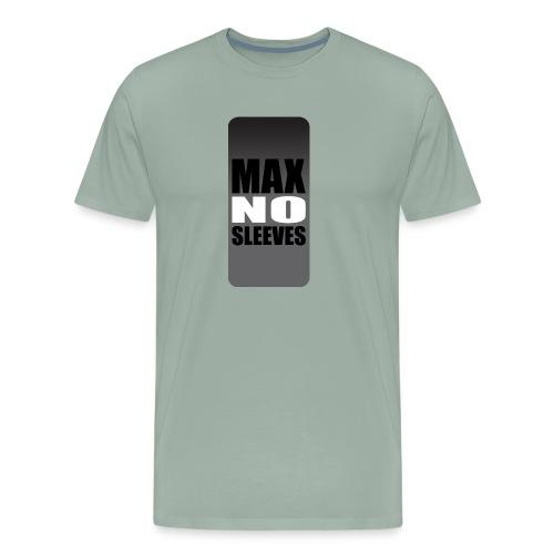 nosleevesgrayiphone5 - Men's Premium T-Shirt