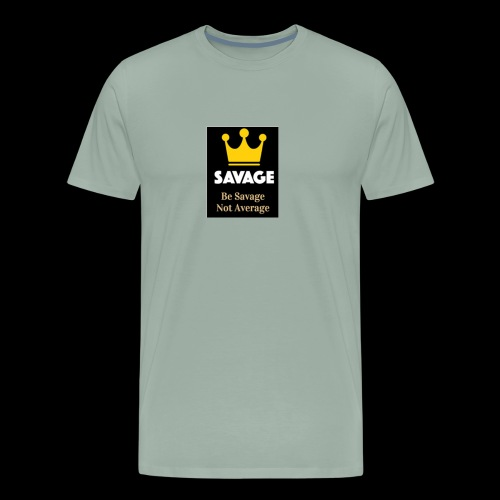 savage not average MENS tee - Men's Premium T-Shirt