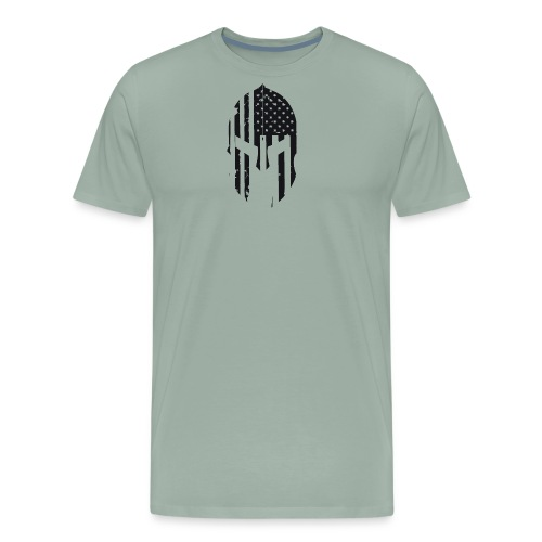 BLACK SPARTAN - Men's Premium T-Shirt