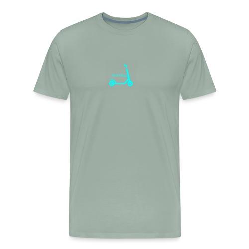 Nick's Scooter - Men's Premium T-Shirt