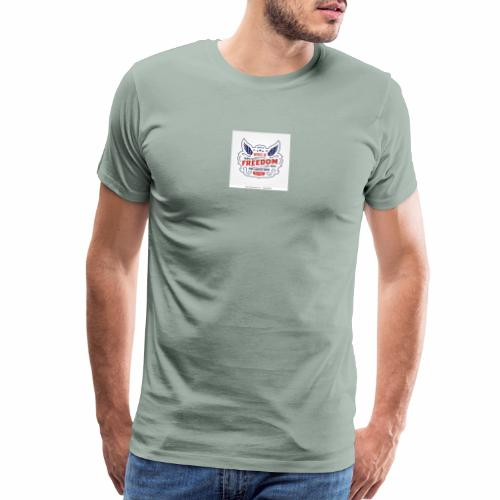 wings of freedom - Men's Premium T-Shirt