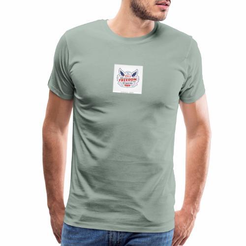 wings of freedom - Men's Premium T-Shirt