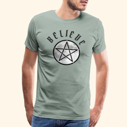 wicca moon - Men's Premium T-Shirt