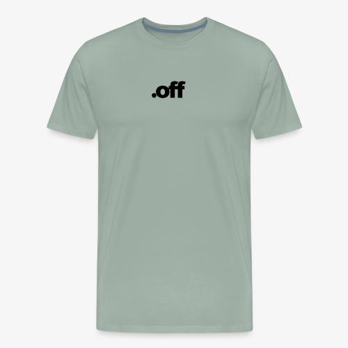 dot off - Men's Premium T-Shirt