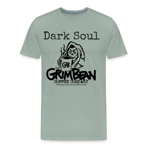 Grim Bean Coffee Company Dark Soul - Men's Premium T-Shirt