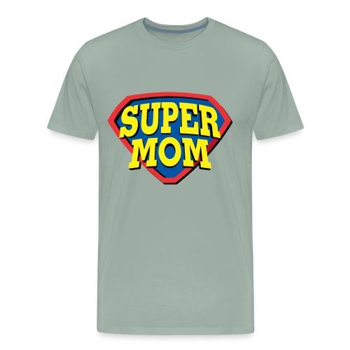 Super Mom, Super Mother, Super Mum, Mother's Day - Men's Premium T-Shirt