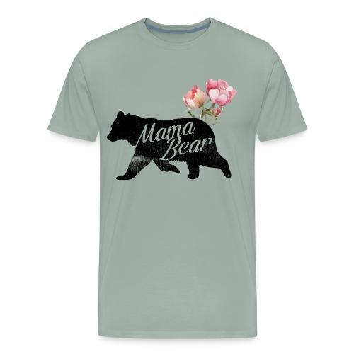 Mama Bear, Mommy Bear, Mother Bear, Mummy Bear - Men's Premium T-Shirt