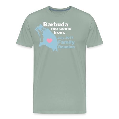 Barbuda Family Reunion - Men's Premium T-Shirt