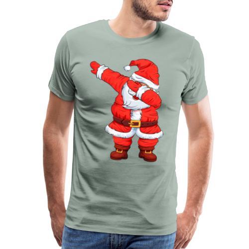 Dabbing Santa Shirt Christmas Boys Kids - Men's Premium T-Shirt