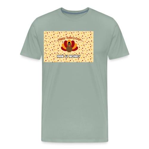 thanksgiving are u scary merch - Men's Premium T-Shirt