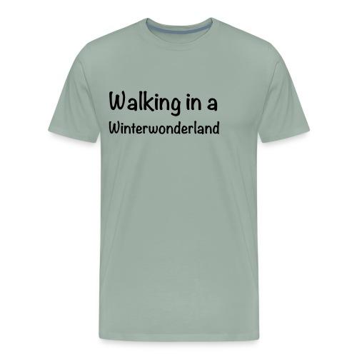 Walking in a Winterwonderland - Men's Premium T-Shirt