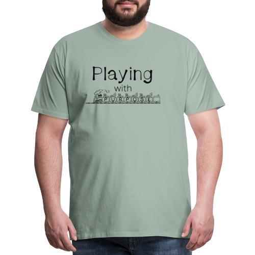 Playing With Purpose - Men's Premium T-Shirt