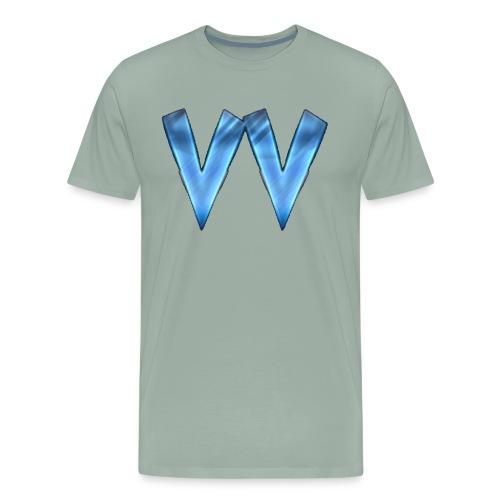 DOUBLE V (TRANSPARENT BACKGROUND) - Men's Premium T-Shirt