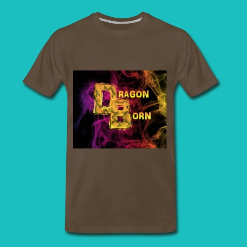 DragonBorn Logo - Men's Premium T-Shirt