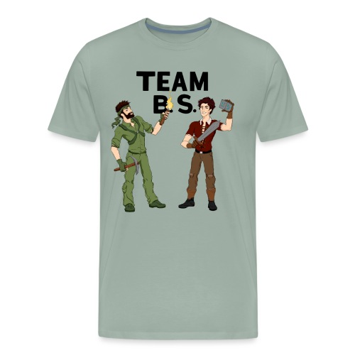 teambs-caglee-cropped - Men's Premium T-Shirt