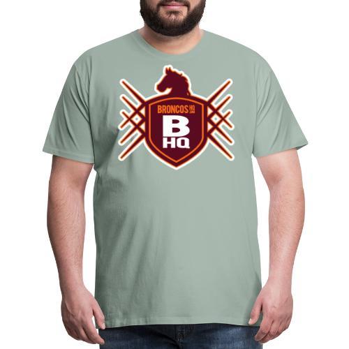 BroncosHQ Badge Logo - Men's Premium T-Shirt