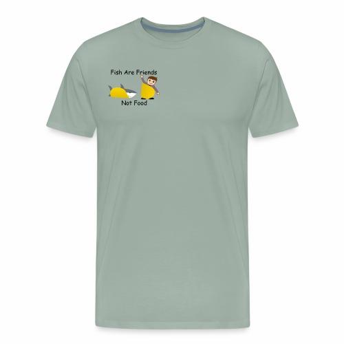 Fish Are Friends - Men's Premium T-Shirt