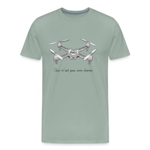 Treachery of Images - Men's Premium T-Shirt