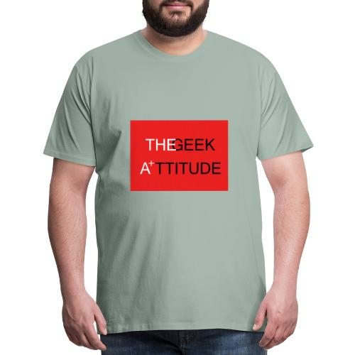 the geek attitude - Men's Premium T-Shirt