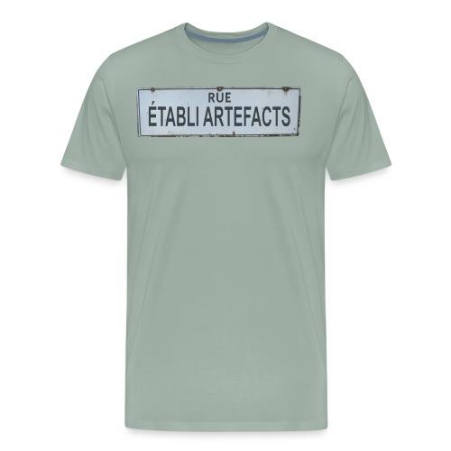 Francais - Men's Premium T-Shirt