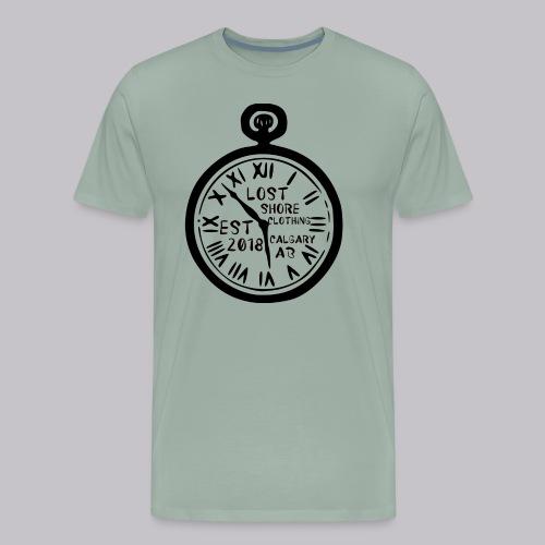 ░▒▓█ 𝐓 𝐈 𝐌 𝐄 █▓▒░ - Men's Premium T-Shirt
