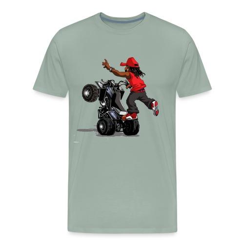 yamaha banshee stunt - Men's Premium T-Shirt