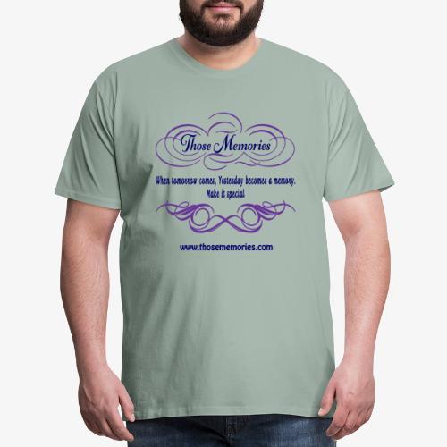 Those Memories Logo - Men's Premium T-Shirt