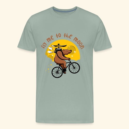 Fly me to the Moon - Men's Premium T-Shirt