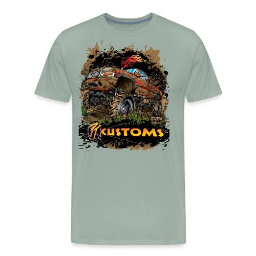 Mud Truck PT Customs - Men's Premium T-Shirt