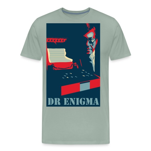 Dr Enigma+Enigma Machine - Men's Premium T-Shirt