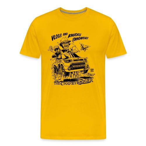 carpetbagger shirt png - Men's Premium T-Shirt