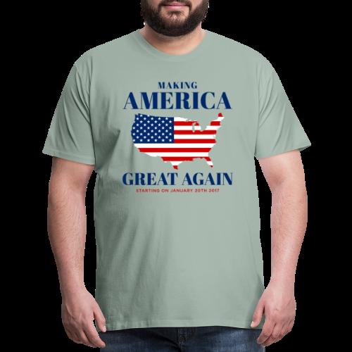 Making America Great Again - Men's Premium T-Shirt