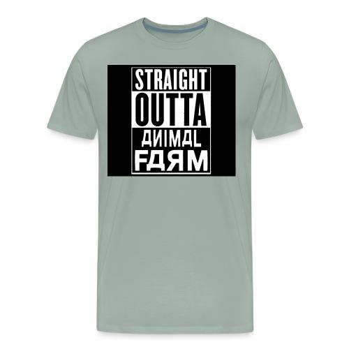 StraightOuttaAnimalFarm - Men's Premium T-Shirt
