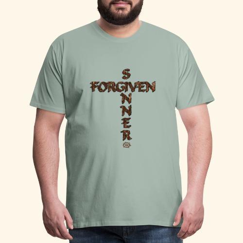 Forgiven Sinner - Men's Premium T-Shirt