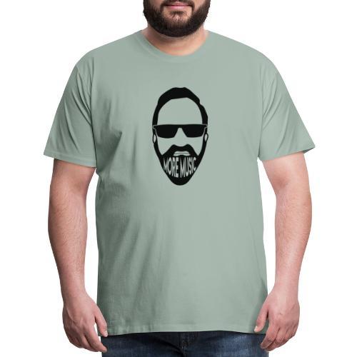 Joey D More Music front image multi color options - Men's Premium T-Shirt