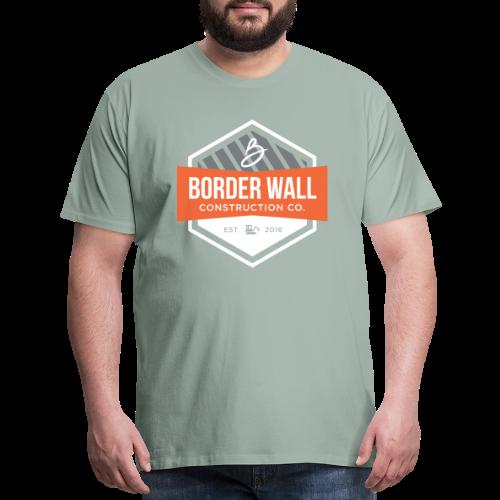 Border Wall Construction Crew - Men's Premium T-Shirt