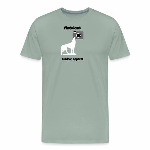 PhotoBomb Logo Graphic - Men's Premium T-Shirt