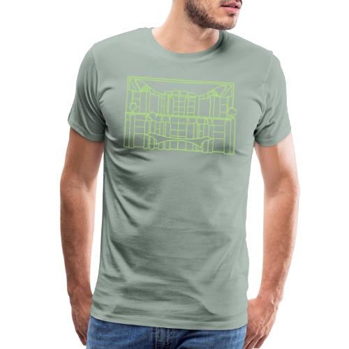 Chancellery in Berlin - Men's Premium T-Shirt