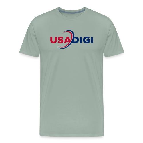 USA DIGI for light shirts - Men's Premium T-Shirt