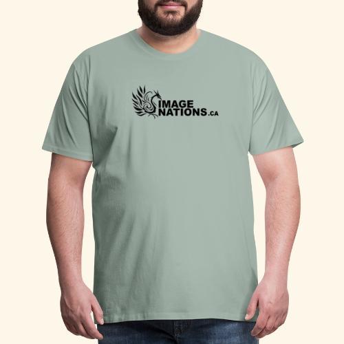 image nation Logo - Men's Premium T-Shirt