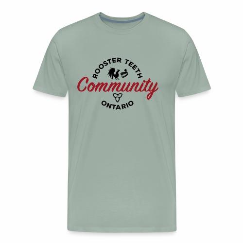 Rooster Teeth Ontario Community - Men's Premium T-Shirt