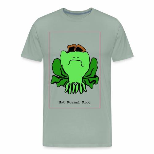 not normal frog - Men's Premium T-Shirt