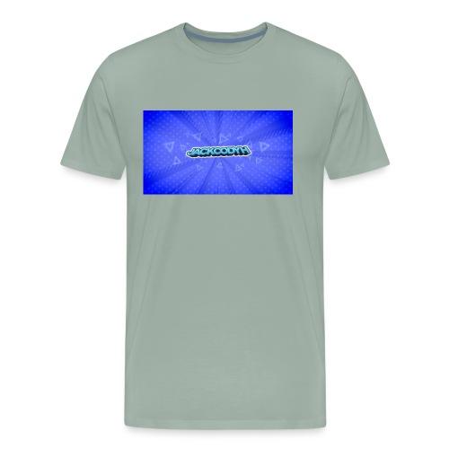 JackCodyH logo - Men's Premium T-Shirt