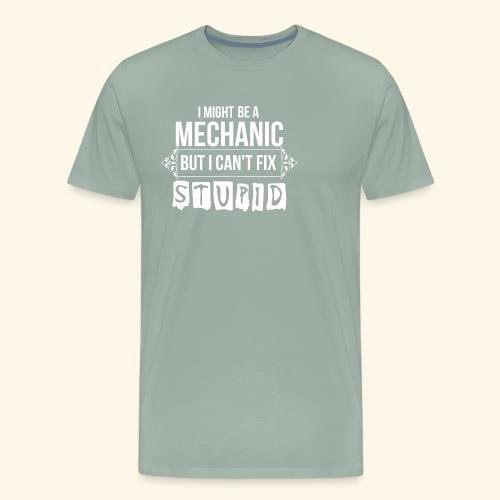 Auto Mechanic T Shirts For Men, Women,Kids,Babies - Men's Premium T-Shirt